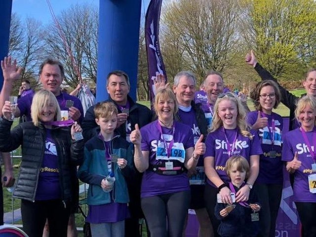 stroke association run