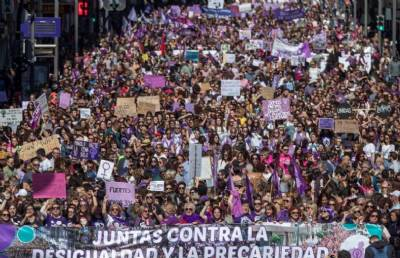 womens day march murcia